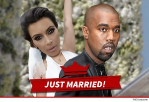 Kim Kardashian and Kanye West tie the knot in Italy