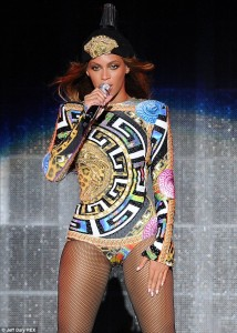 Behind The Seams: All About Beyonce's Versace, Versace, Versace On The Run Tour Ensembles (PHOTOS)