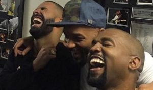 Are Drake, Kanye West, and Will Smith Laughing At Meek Mill Memes In This Video?