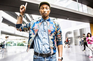 "Pharrell Premieres Unreleased N.E.R.D. Song ""Locked Away,"" Interviews Tyler, the Creator on His Beats 1 Radio Show"