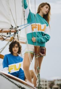 The Fila x Urban Outfitter 'Nautical Collection For Women Is Stunning